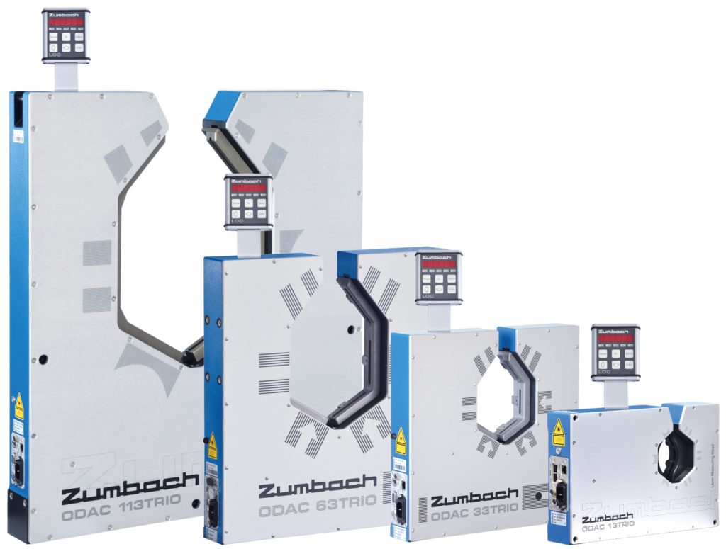 Super fast laser diameter gauges from ZUMBACH Electronics. The solution for accurate diameter and ovality measurement!