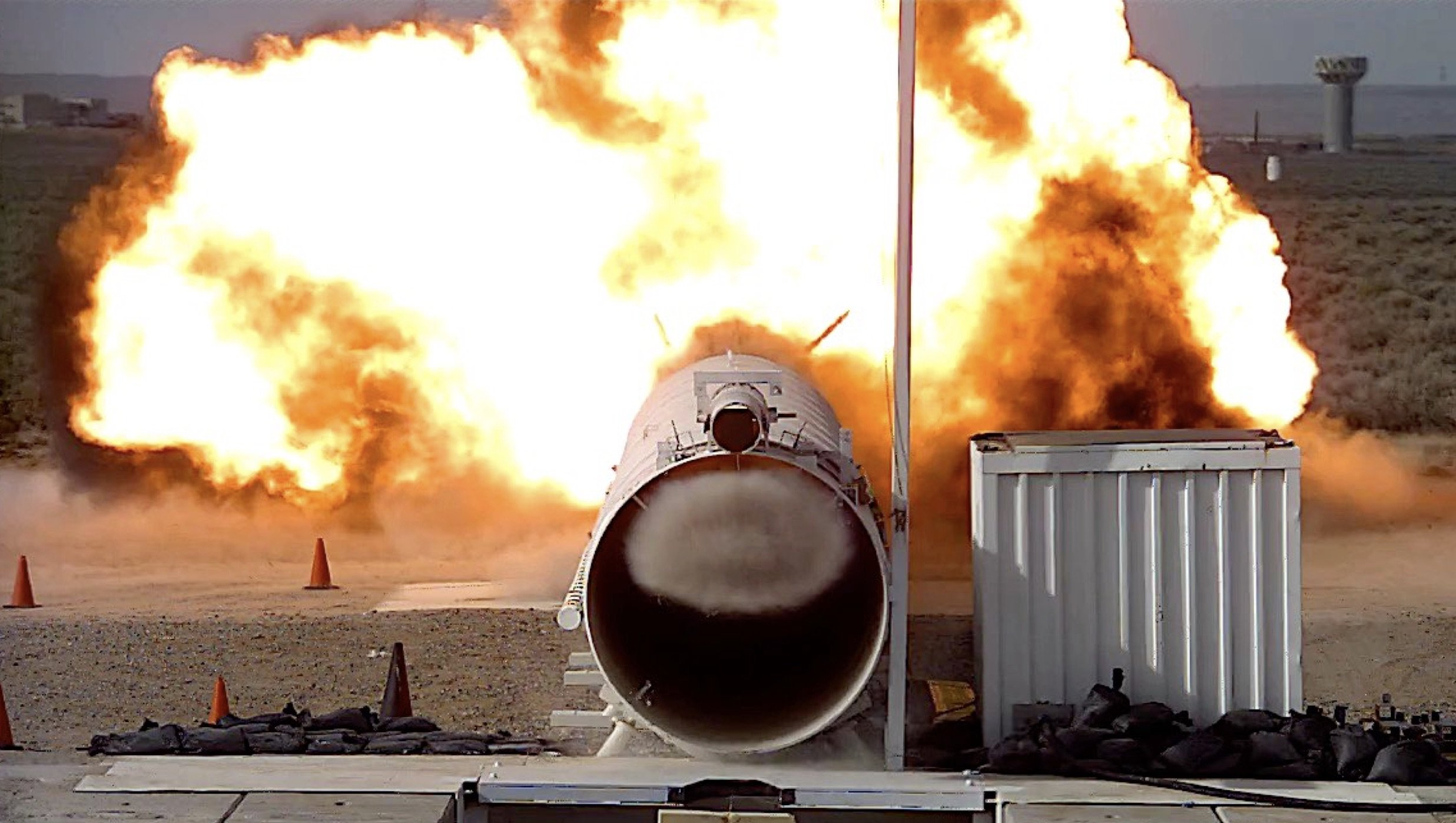 Blast tube tests at Sandia simulate shock wave conditions nuclear weapons could face