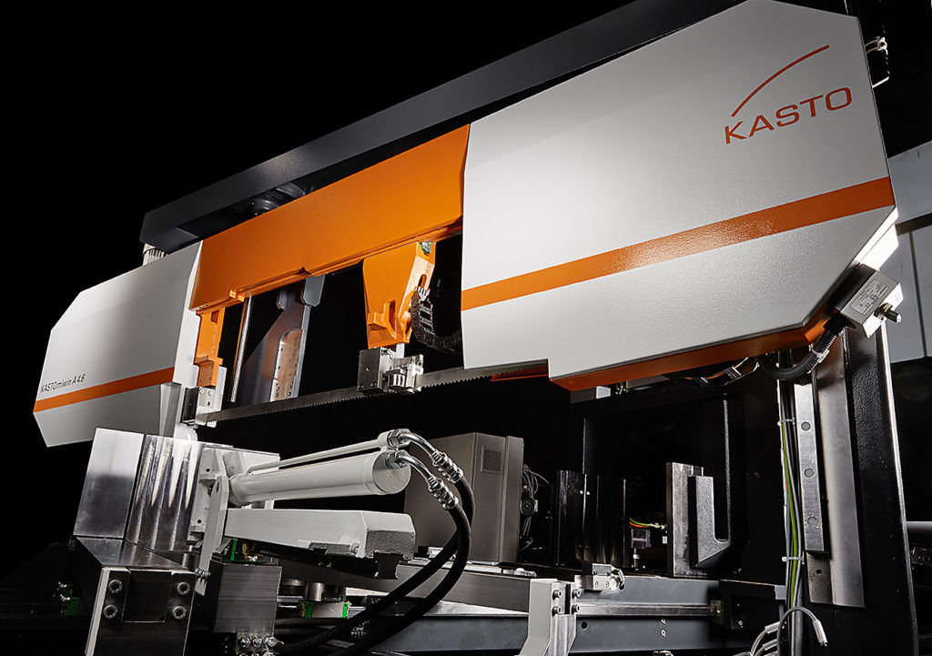 Double Mitre Cutting Bandsaw From Kasto